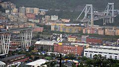 El derrumbe de un viaducto en una autopista de Génova causa decenas de muertos