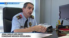 Joan Carles Molinero, Comissari Mossos d'Esquadra
