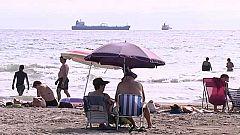 Fuertes tormentas con granizo en Valencia, Murcia y Andalucía