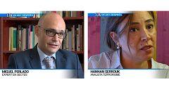Miguel Perlado, expert en sectes i Hannan Serrouk, analista terrorisme