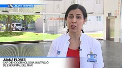 Juana Flores, cap d'endocrinologia i nutrició de l'Hospital del Mar