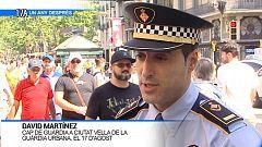 David Martínez, cap de guàrdia a Ciutat Vella de la Guàrdia Urbana