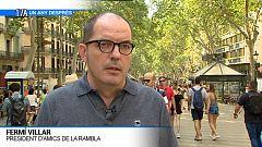 Fermí Villar, president d'Amics de La Rambla