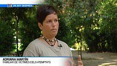 Adriana Martín, familiar de víctimes dels atemptats