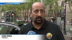 Cesc Roca, taxista