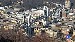 El viaducto derrumbado, una de las arterias neurálgicas de Italia