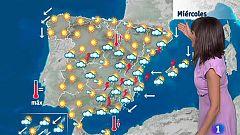 Este miércoles habrá probables tormentas fuertes en el sudeste peninsular