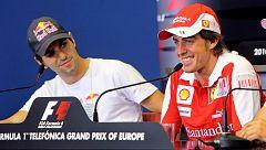 Los Alguersuari, padre e hijo, analizan la marcha de Alonso de la F1