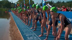 Triatlón - ITU World Series. Prueba Edmonton (Canadá). Resumen