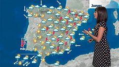 Fuertes tormentas en el este y el centro