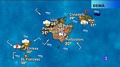 El temps a les Illes Balears - 16/08/18