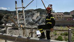 Italia confirma que las viviendas bajo el viaducto son inhabitables y sigue buscando desaparecidos