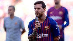 Messi promete la Champions al barcelonismo