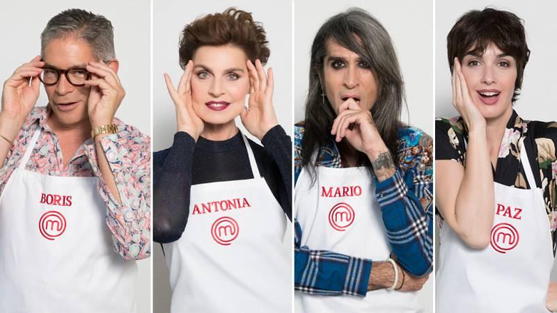 MasterChef Celebrity 3 - Boris Izaguirre, Paz Vega, Antonia Dell'Atte y Mario Vaquerizo