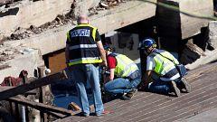 La Policía de Vigo recibe las primeras denuncias de los afectados por el accidente de O Marisquiño