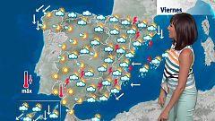 Tormentas con fuerte aparato eléctrico en Cataluña y Baleares