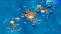 El temps a les Illes Balears - 17/08/18