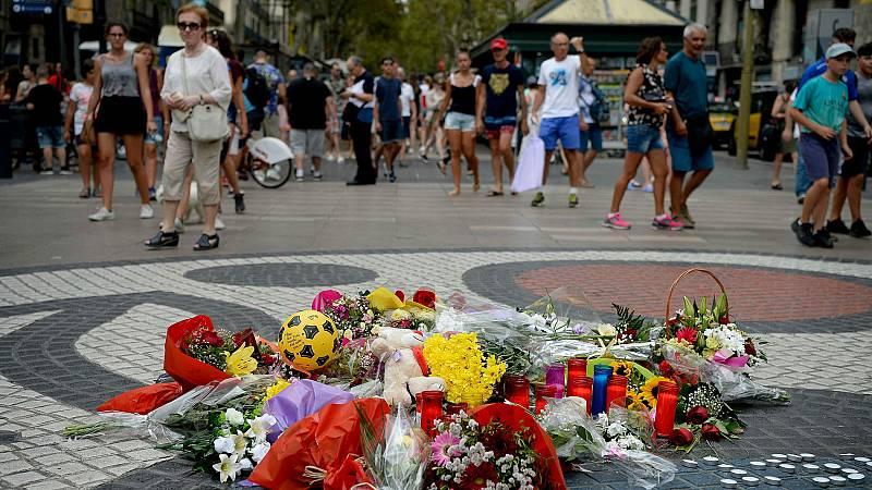 La Rambla, un año después del atentado