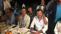 La fiesta de Salvini tras el derrumbe de un puente en Génova indigna a italia