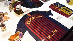 El FC Barcelona homenajea a las víctimas de los atentados