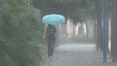 LLuvias torrenciales en Ibiza, Mallorca, Alicante y Barcelona