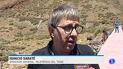 Atrapados en el teleférico del Teide