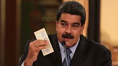 Maduro anuncia que el salario mínimo en Venezuela será 35 veces superior al actual