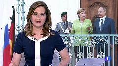 La canciller alemana se ha reunido con el presidente ruso en Berlín