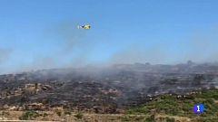 Declarado un incendio forestal en la sierra de Roses, en Girona