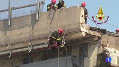 En Italia se da por finalizada la búsqueda de más víctimas entre los hierros del puente Morandi