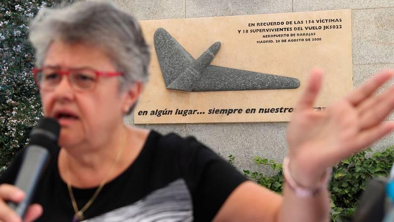 Las víctimas de Spanair exigen a la Justicia que desclasfique los documentos con los que se hizo el informe de responsabilidad del accidente