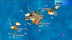 El temps a les Illes Balears - 20/08/18
