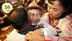 Familias coreanas del Norte y del Sur se reencuentran tras décadas de separación