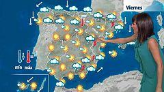 Fuertes chubascos en zonas montañosas del este peninsular y Baleares