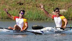 Mundiales de piragüismo. Paco Cubelos e Íñigo Peña logran la primera medalla española