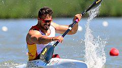 Carlos Garrote, campeón del mundo en K1 200 metros