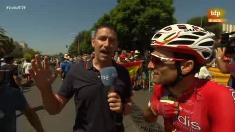 El corredor marbellí del Cofidis ve como la ronda ciclista más importante de su país toma la salida desde su casa.
