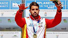 Carlos Garrote y el equipo K4 suman dos medallas más