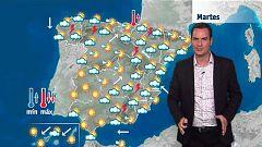 Lluvias fuertes en el Mediterráneo y en el noroeste