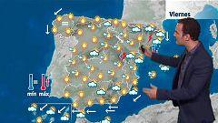 Lluvias y tormentas en Cataluña, en el Sistema Ibérico y el Pirineo catalán