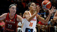 Baloncesto - Torneo Cuadrangular preparación Mundial Femenino: España - Bélgica, desde Valencia