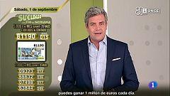 Sorteo ONCE - 01/09/18