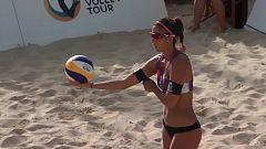 Voley playa - Madison Beach Volley Tour 2018 Cto. de España. Final Femenina, desde Fuengirola (Málaga)