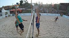 Voley playa - Madison Beach Volley Tour 2018 Cto. de España. Final Masculina, desde Fuengirola (Málaga)
