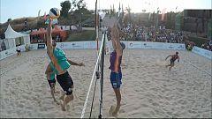 Voley playa - Madison Beach Volley Tour 2018 Cto. de España. Final Masculina, desde Fuengirola (Málaga)