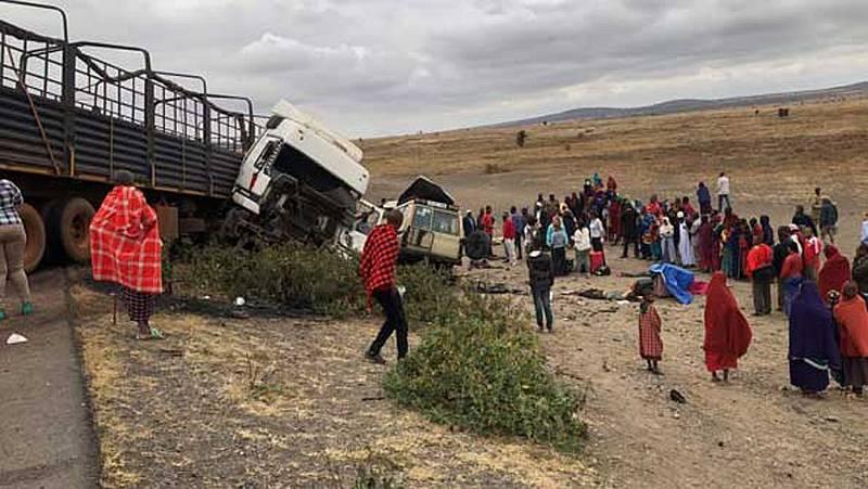 Accidente de tráfico en Tanzania