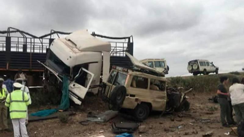 Mueren tres turistas malagueñas y un italiano en un accidente en Tanzania