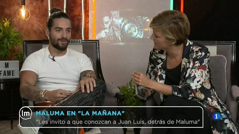 """La Mañana - Maluma: """"Me afectan las críticas por mi madre"""""""