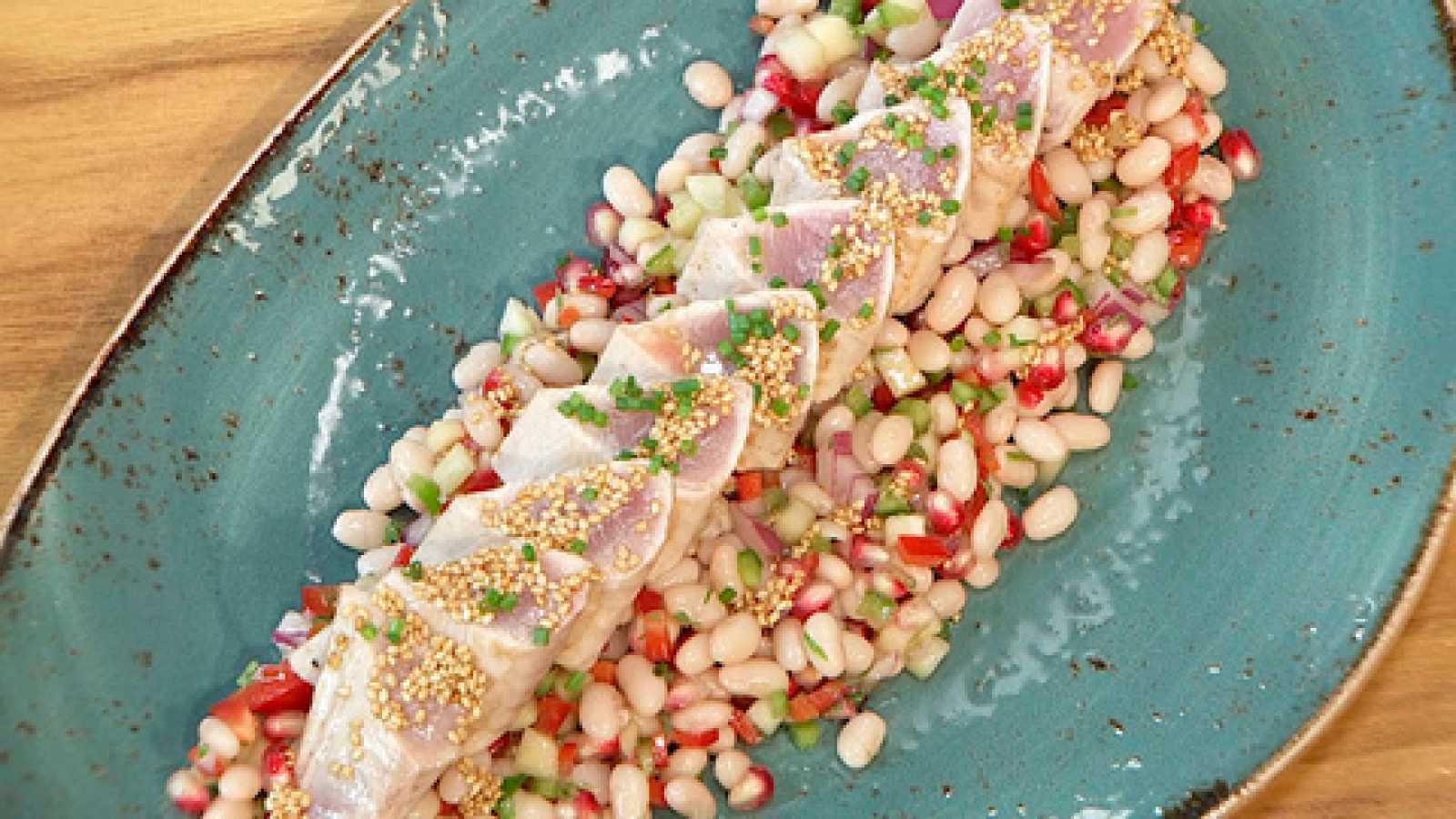 Torres en la cocina - Ensalada de alubias