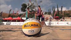 Voley playa - Madison Beach Volley Tour 2018 Cto. de España Resumen